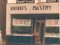 Mimi's Pastry Shop located on Butler Street across from St. Joachim's Church in Trenton (Chambersburg).